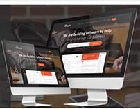 Meminz Download Software Landing Page Muse Template
