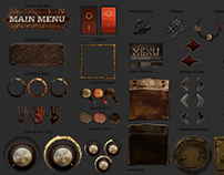 UI Elements For Thesis Project
