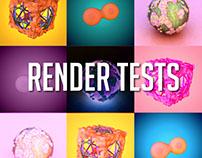 Render tests
