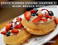 Miami Brunch Spots by Scott Storick