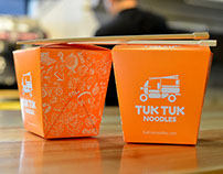 TUK TUK NOODLES · Branding / Interior Design /Packaging
