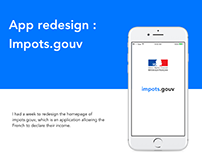 Impots.gouv - app redesign