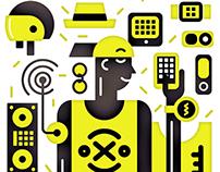 Conscious consumerism illustration