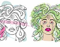 Urban Hook Inc. : Medusa Graphic