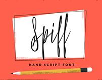 Spiff - Hand Script Font