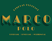 FREE | Marcopolo Contrast Deco Style Font