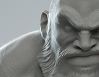 Zangief Sculpt