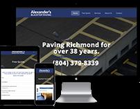 Paving Website