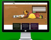 Pc design presentation for a building website