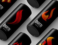 Burn Energy Drink | Flame Re-Design