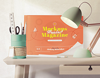 10 Magazine mockups and 41 Items