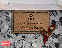 AirBnB Kick Off Your Shoes, You're Home.