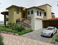 Residencial Punta Vista 3D, Cabo San Lucas, Mex.