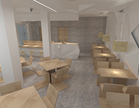Interior design-Sushi bar