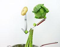 Product Photography - Levitating food