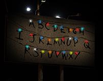 Netflix - Stranger Billboard [OUTDOOR]