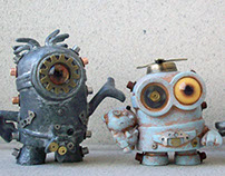 Steampunk Mini Minions