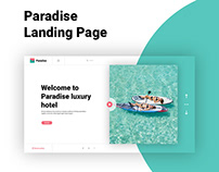 Paradise Landing Page