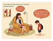 Story Illustration - Mathnasium vietnam