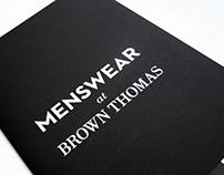 Brown Thomas Menswear Promotion
