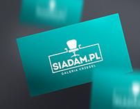 Logo, identyfikacja oraz www dla Siadam.pl