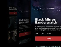 Netflix Movie Page - Redesign