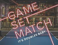 Event Branding - Valassis Digital's Game Set Match