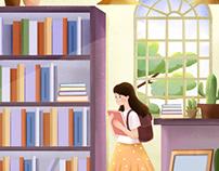 《女孩成长不烦恼》封面插图