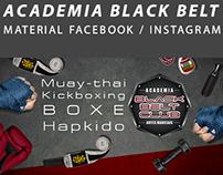 Black Belt - Facebook e Instagram