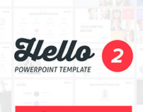 Hello 2 PowerPoint Presentation Template