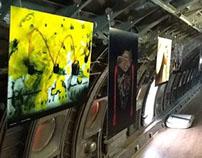Exposición escanografías en Moscú, Rusia.
