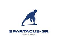 Spartacus.gr Branding