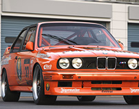 Jagermeister Rennsport BMW M3 DTM