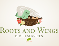 Roots and Wings Birth Services Website