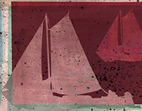 Postcards - Fish & Ships     2012