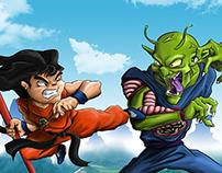 Goku vs Picoro Daimaku