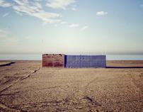 Almerimar. Club de Playa abandonado.