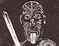 Drawing for Māori Poster