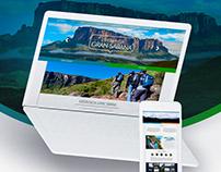 Experiencia Gran Sabana - Website Design