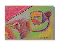 Pastel Teacup