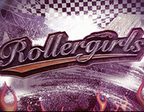 """""""RollerGirls"""" Opening Title"""
