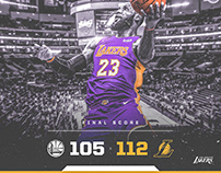 Templates for Los Angeles Lakers (Personal Project)
