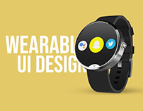 Wearable UI Design