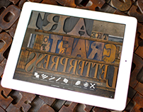 App Design: Virtual Letterpress for iPad