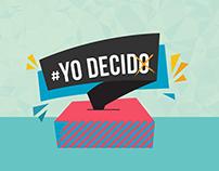 Campaña de Gobiernos Escolares - YO DECIDO