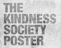 THE KINDNESS SOCIETY POSTER