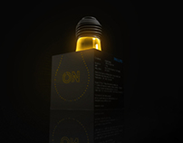 Philips Light Bulb Packaging