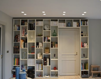 Bibliothèque Sur-Mesure - Projet réalisé avec So&Lo