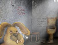 rabbit prison & bar