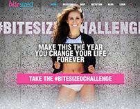 Bitesized Fitness Landing Page